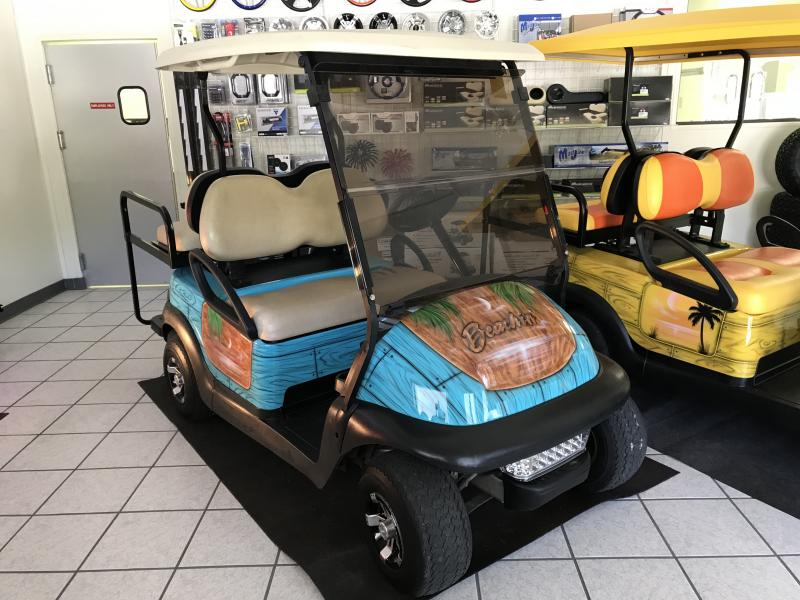 Custom Golf Cart Beachin