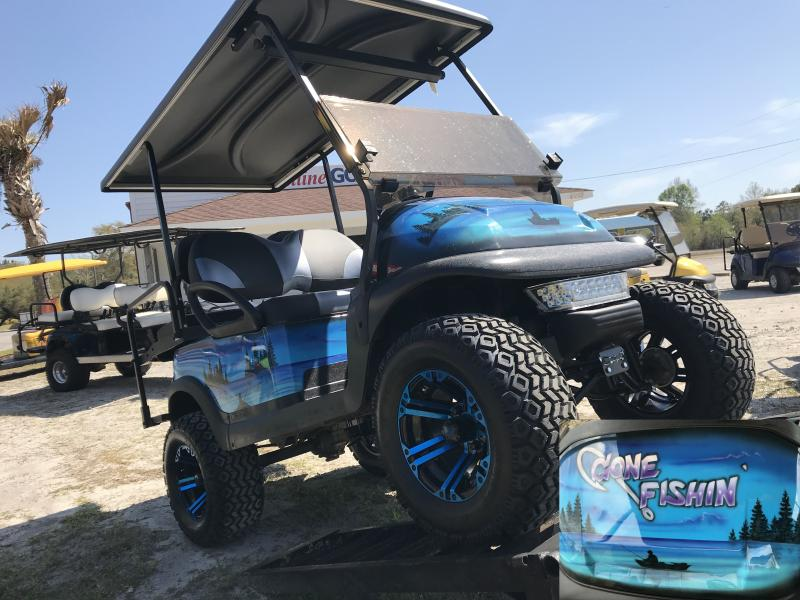 Custom Golf Cart Fishin